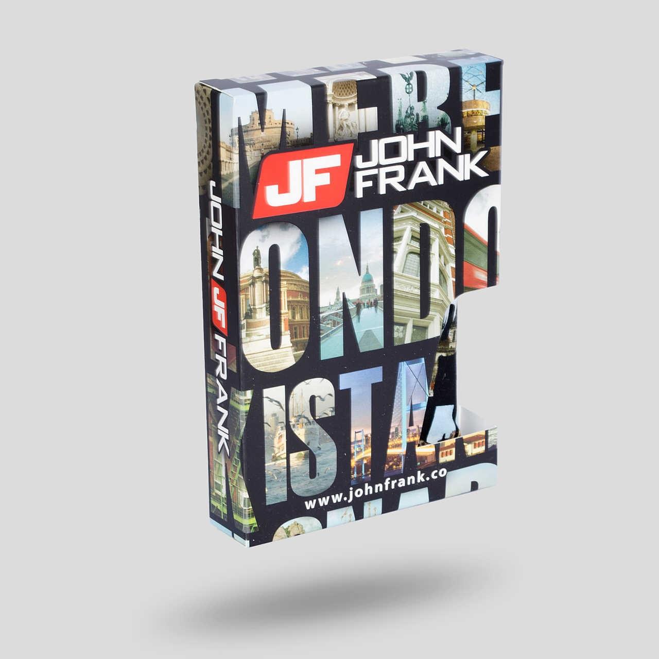 """Ανδρικό Boxer """"City"""" John Frank (JFB103)"""