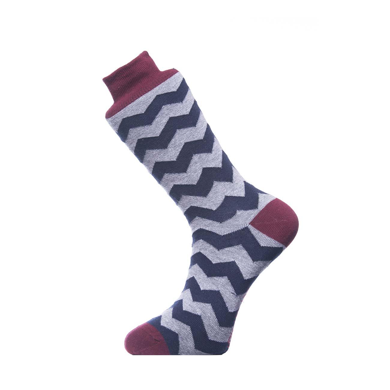 Ανδρική κάλτσα John Frank -JF3LS17W24-3 Pack Πολύχρωμη