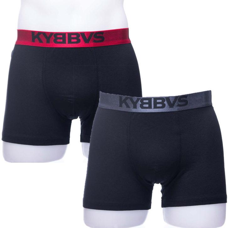 Ανδρικό boxer Kybbus 675 06-16 κόκκινο γκρι- 2 pack