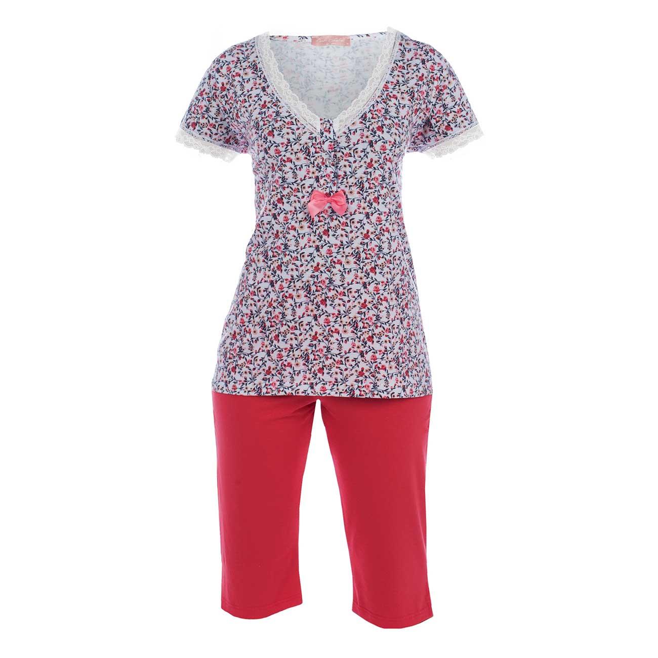 Πυτζάμα γυναικεία Pink Label - s376 Πολύχρωμη