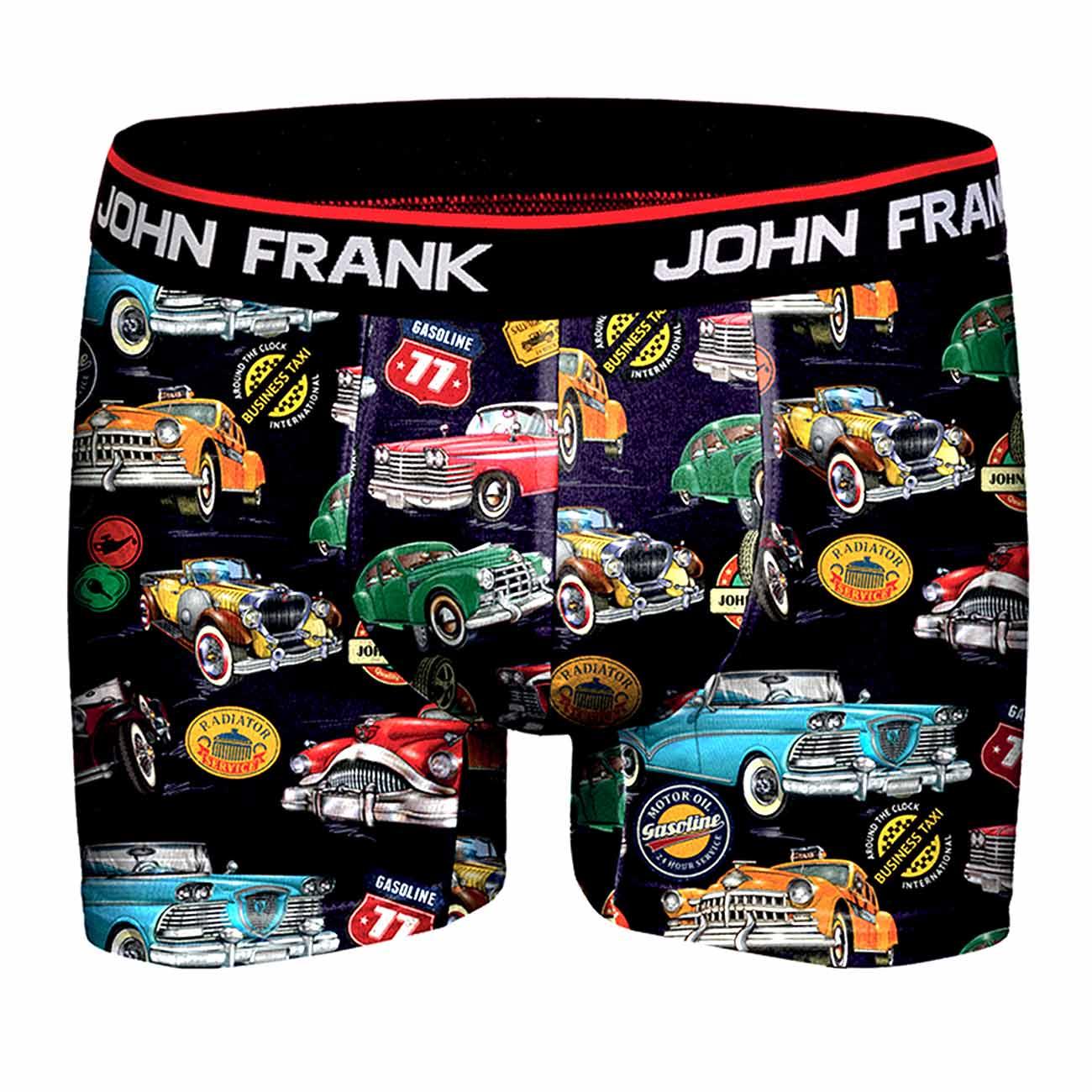 Ανδρικό Boxer (Retro Cars) John Frank - jfbd211