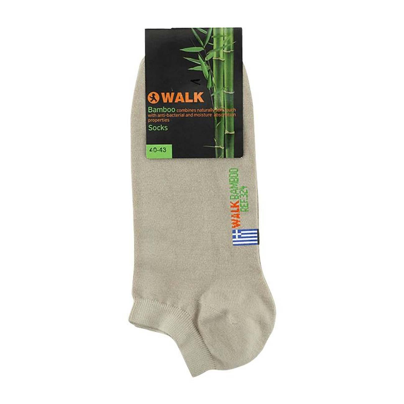 Κάλτσα τερλίκι Walk -w 324-19 Μπεζ - Μπεζ, 44-46