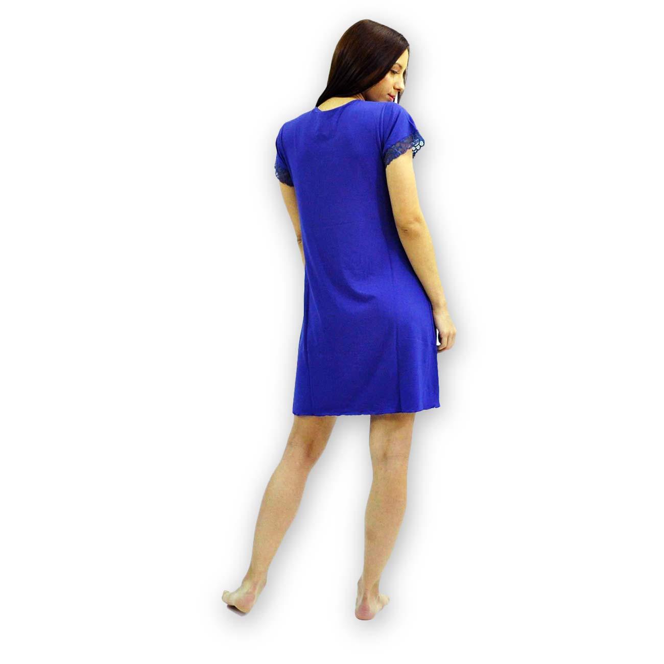 Νυχτικό Dama Koupa - 1703 Μπλε