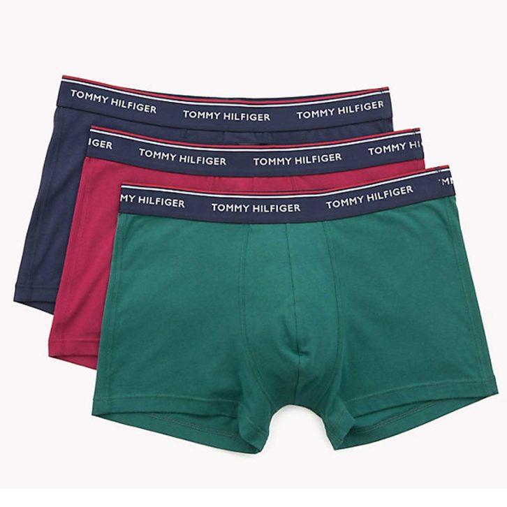 Ανδρικό Boxer Tommy Hilfiger 3pack - 1U87903842-462