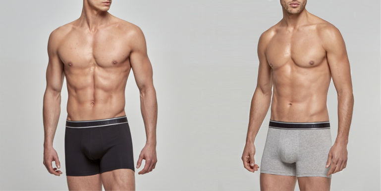 Ανδρικά Boxer 3pack Cotton Stretch BOSS 50449457-03 Μαύρο