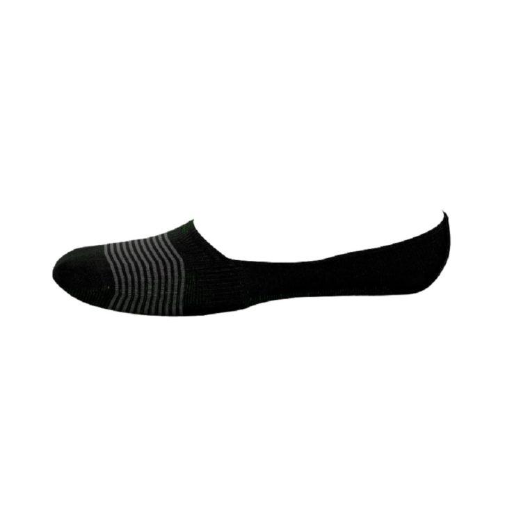 Ανδρική Αόρατη Κάλτσα Bamboo Walk W734-3_02 Μαύρο