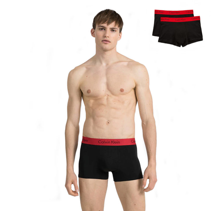 Ανδρικό boxer Calvin Klein 2 Pack OOONB1463A-IXY