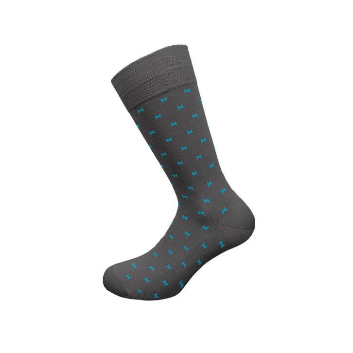 Ανδρική κάλτσα bamboo Walk - w304-4 γκρι