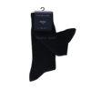 Σετ δύο ανδρικών καλτσών Tommy Hilfiger 371111-322 σκούρων μπλε