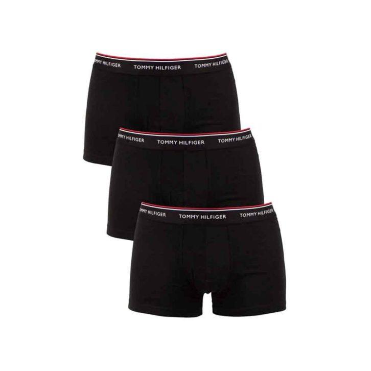 Ανδρικό Boxer Tommy Hilfiger 3pack - 1U87903842-990 μαύρο