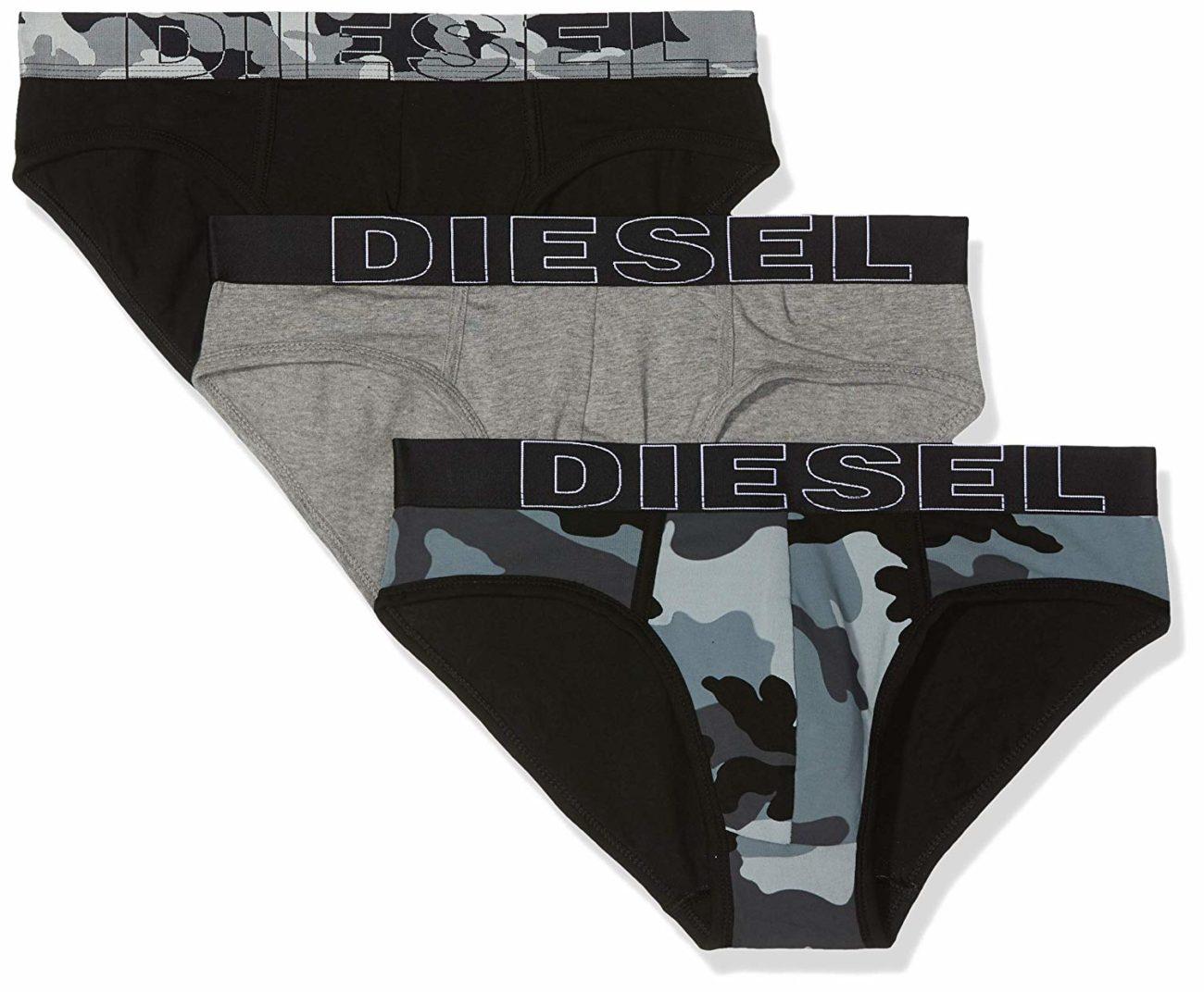 Ανδρικό Σλιπ Diesel 3 pack - 00SH05-OPAOZ-E4203