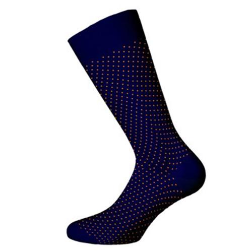 Ανδρική κάλτσα Walk bamboo w304-3-03 μπλε σκούρο 2
