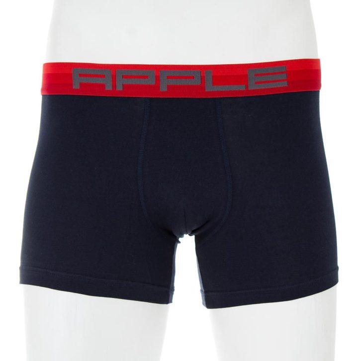 Ανδρικό boxer Apple 0110936 Μαύρο-Κόκκινο