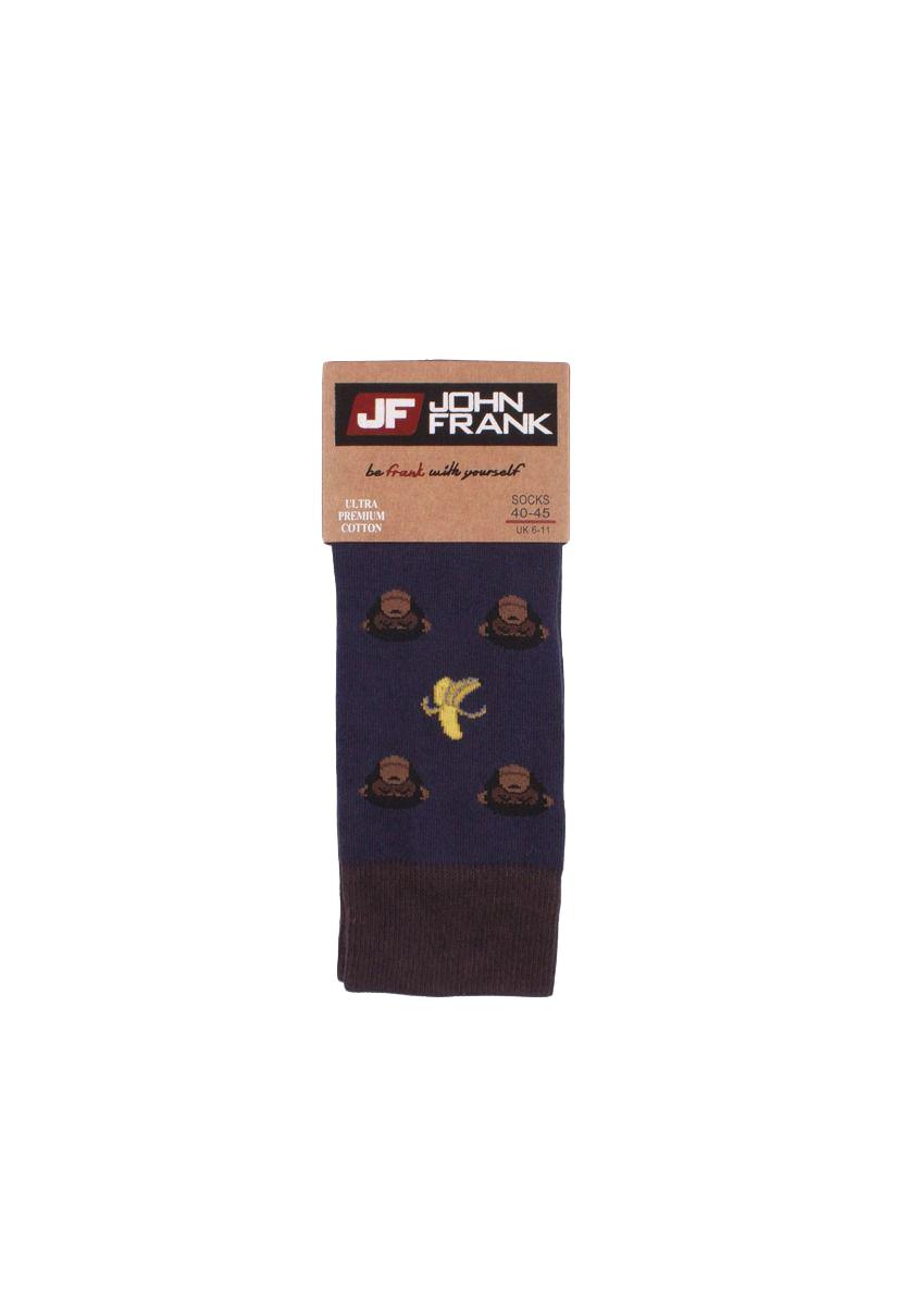 Ανδρική κάλτσα John Frank JFLSF19W34-Πολύχρωμη