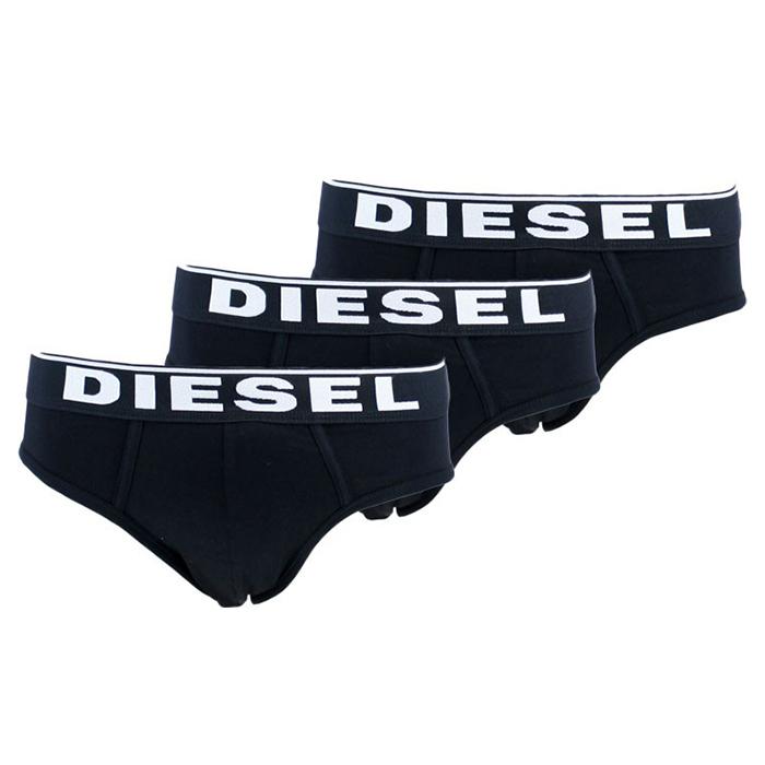 Ανδρικό Σλιπ Diesel 3 pack - OOSHO5 OTANL-01 Μαύρο