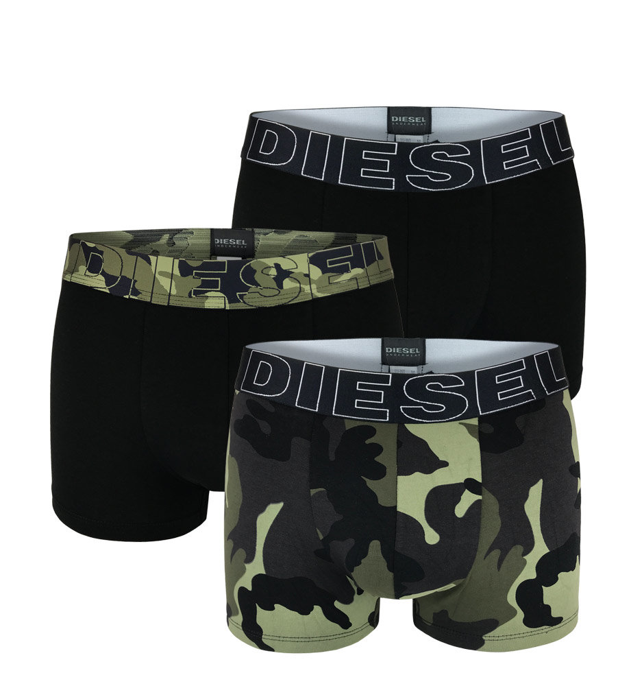 Ανδρικό Boxer Diesel 3pack - 00ST3V-0PAQZ-E1897 Μαύρο