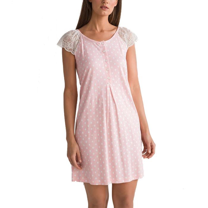Γυναικείο Νυχτικό Vamp Εγκυμοσύνης - 00-10-5559  Ροζ