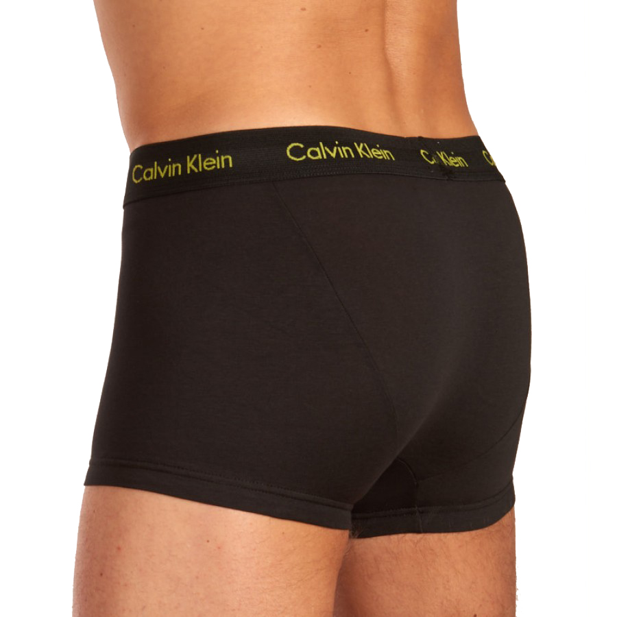 Ανδρικό boxer Calvin Klein U2664G-PZN - 3 pack Μαύρο
