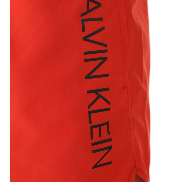Ανδρικό Μαγιό Σορτς Calvin Klein - KM0KM00266655 Κόκκινο