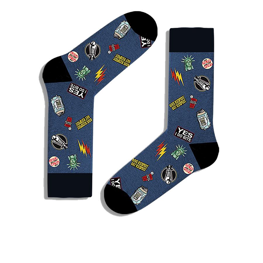 Ανδρική κάλτσα John Frank - JFLSF19W25 πολύχρωμη