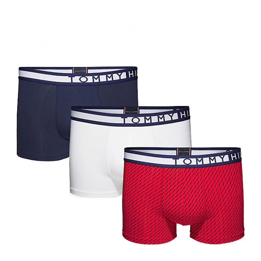 Ανδρικό Boxer Tommy Hilfiger 3pack UM0UM01232-056 - Πολύχρωμο