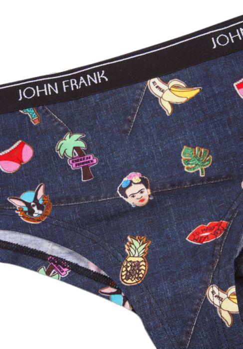 Γυναικείο Hipster John Frank -  WJFD-H14 Fundenim Πολύχρωμο