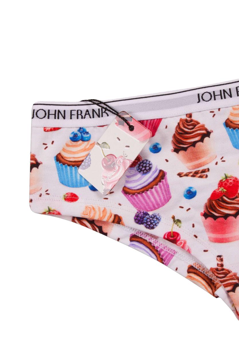 Γυναικείο Hipster John Frank - WJFD-H06 Πολύχρωμο