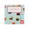 Γυναικείο Hipster Cupcake John Frank -  WJFD-H02 Πολύχρωμο