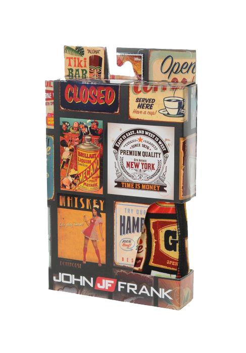 Ανδρικό Boxer John Frank - JFB49 ADS Πολύχρωμο