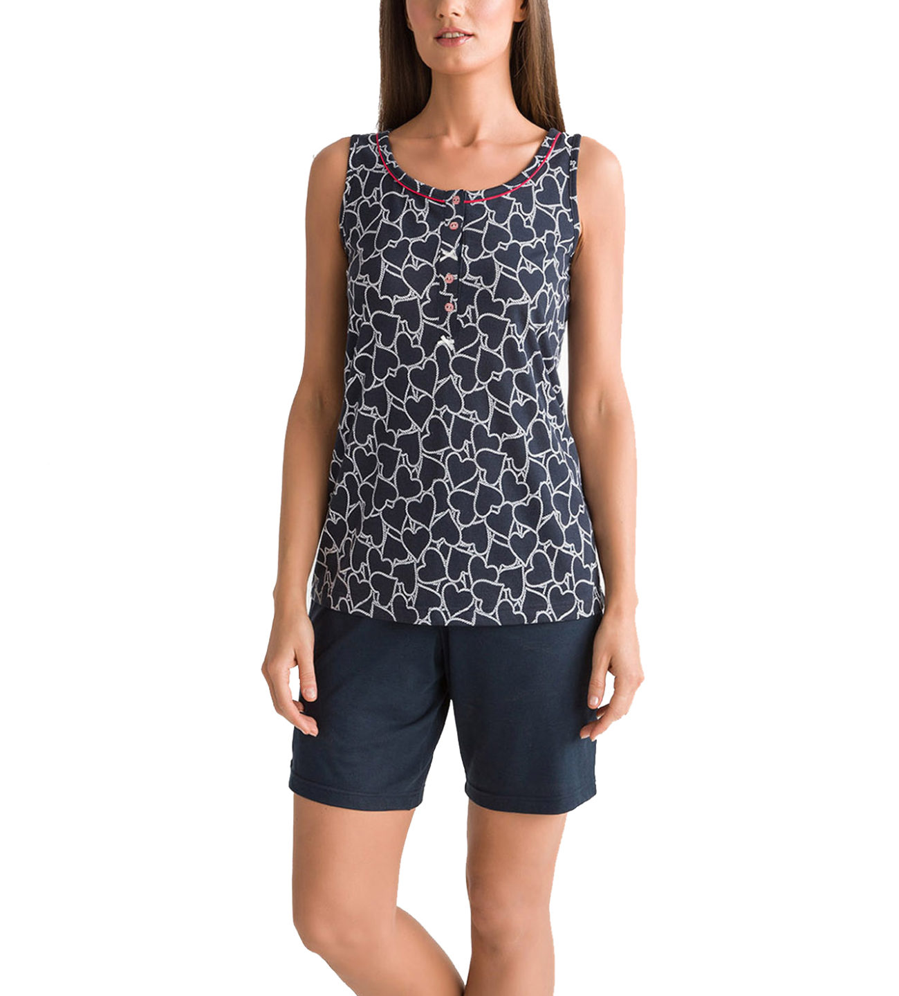 Γυναικεία Πυτζάμα Θηλασμού Vamp - 00-10-5506 Μπλε