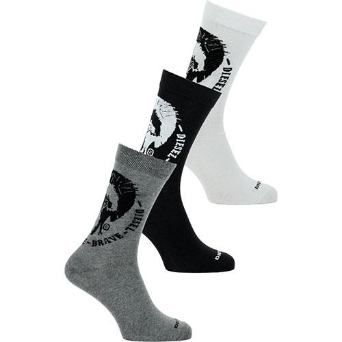 Κάλτσες Diesel 3 pack-  00sayj-0easx-e3843 Πολύχρωμες