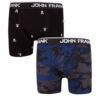 Ανδρικό Boxer John Frank 2pack - JF2BMC07- Πολύχρωμο