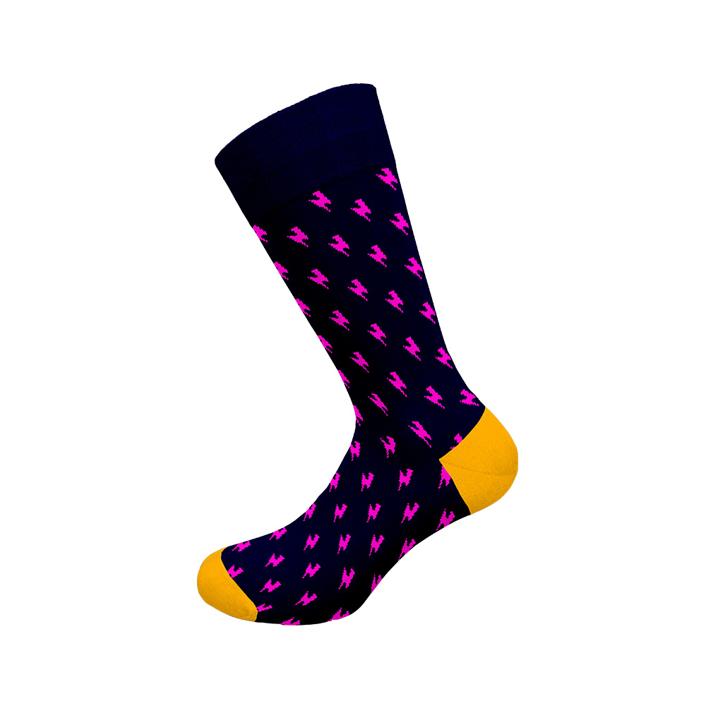 Ανδρική κάλτσα Walk - W1064-11 Πολύχρωμη