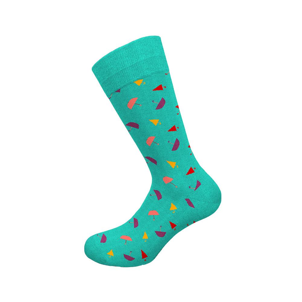 Ανδρική κάλτσα Walk - W1064-12 Τυρκουάζ