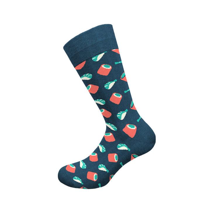 Ανδρική κάλτσα Walk - W1064-13 Μπλε