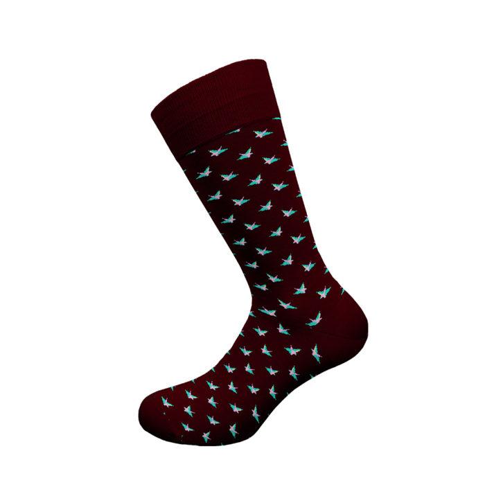 Ανδρική κάλτσα Walk - W118-5 Γκρενα