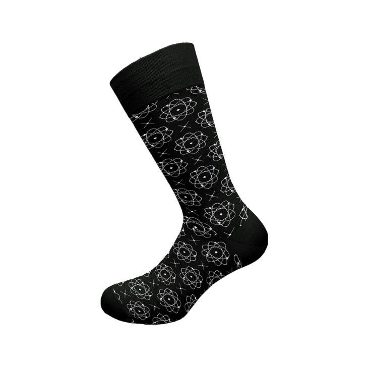 Ανδρική κάλτσα bamboo Walk - W304-10 Μαύρη