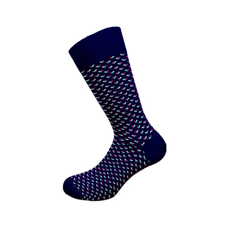 Ανδρική κάλτσα bamboo Walk - W304-11 Μπλε