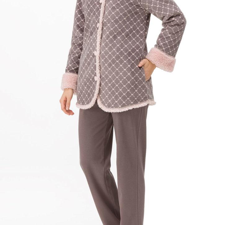Γυναικεία Ρόμπα Vamp fleece -11312 Πολύχρωμη