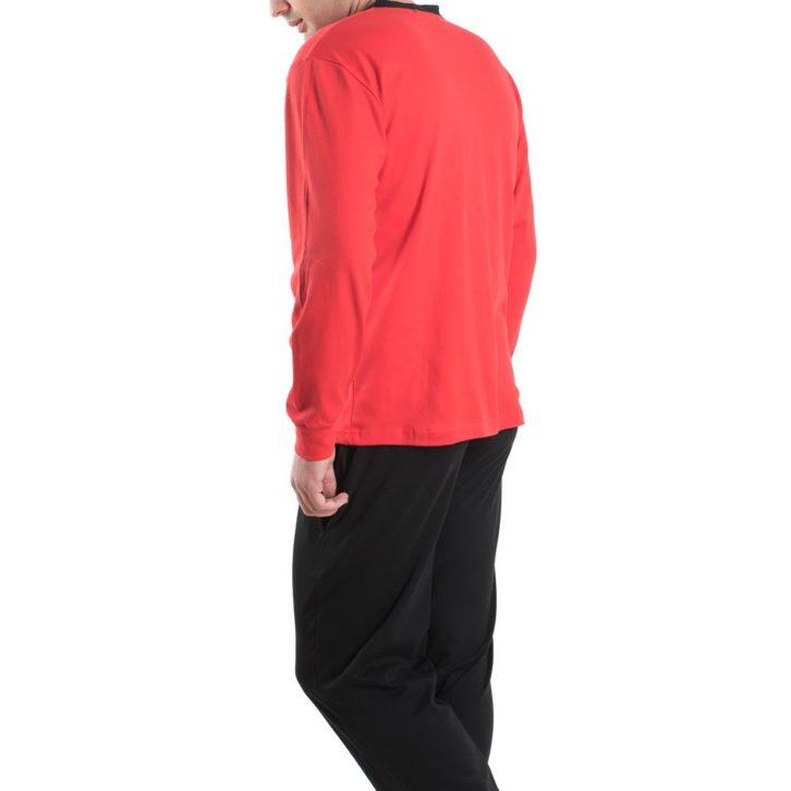 Ανδρική Πυτζάμα-Φόρμα Apple - 0510170 - Kόκκινο