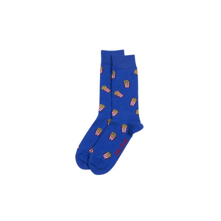 Ανδρική κάλτσα John Frank Pop Corn -JFLSF19W28 - Μπλε