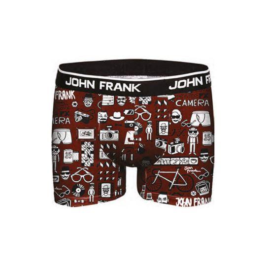 Ανδρικό Boxer John Frank - JFBD216 - Μπορντό