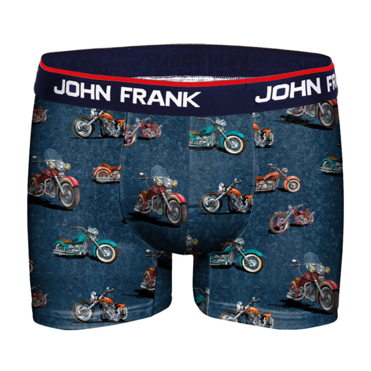 Ανδρικό Boxer John Frank - JFBD284 - Πολύχρωμο