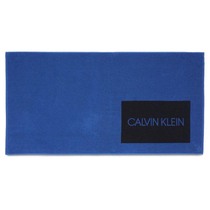 Πετσέτα Θαλάσσης Calvin Klein KU0KU00065 - Μπλε