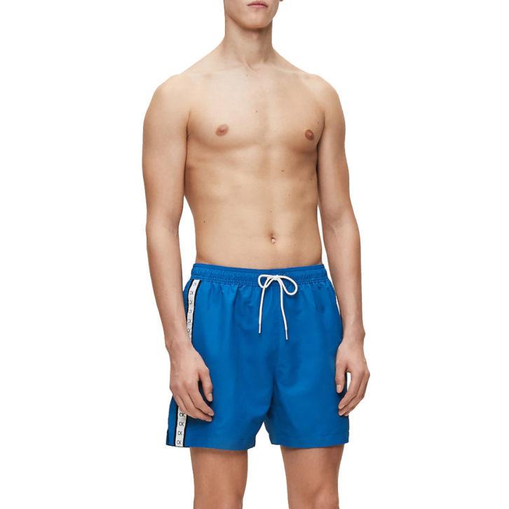 Ανδρικό Μαγιό Σορτς Calvin Klein - KM0KM00451-CJR - Μπλε