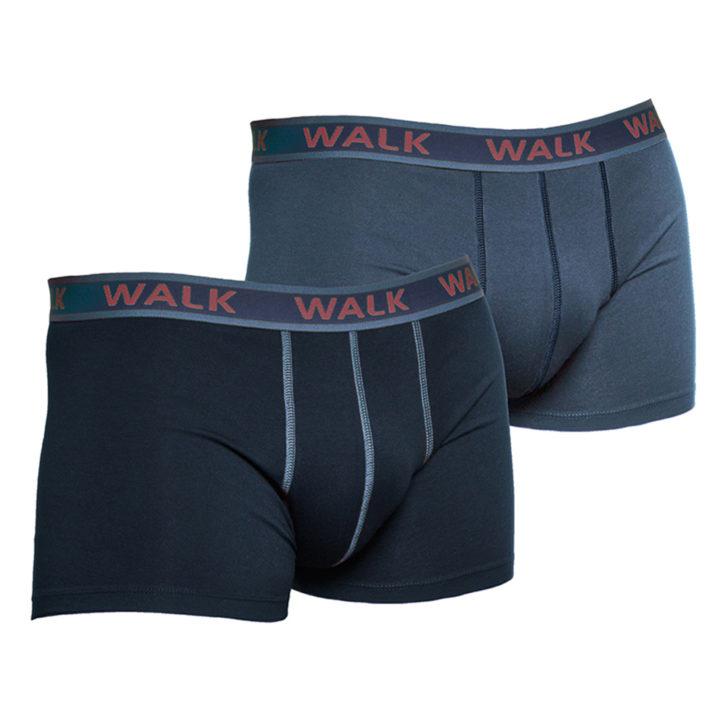 Ανδρικό Boxer Walk-2 pack W1756 - Μπλε