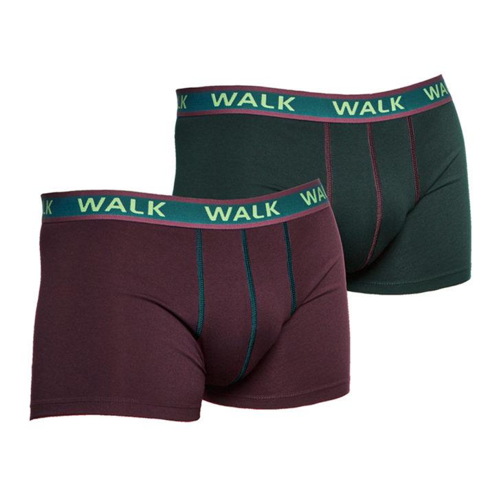 Ανδρικό Boxer Walk 2 pack- W1756 - Πολύχρωμο
