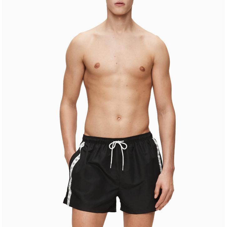 Ανδρικό Μαγιό Σορτς Calvin Klein -  KM0KM00451 - Μαύρο