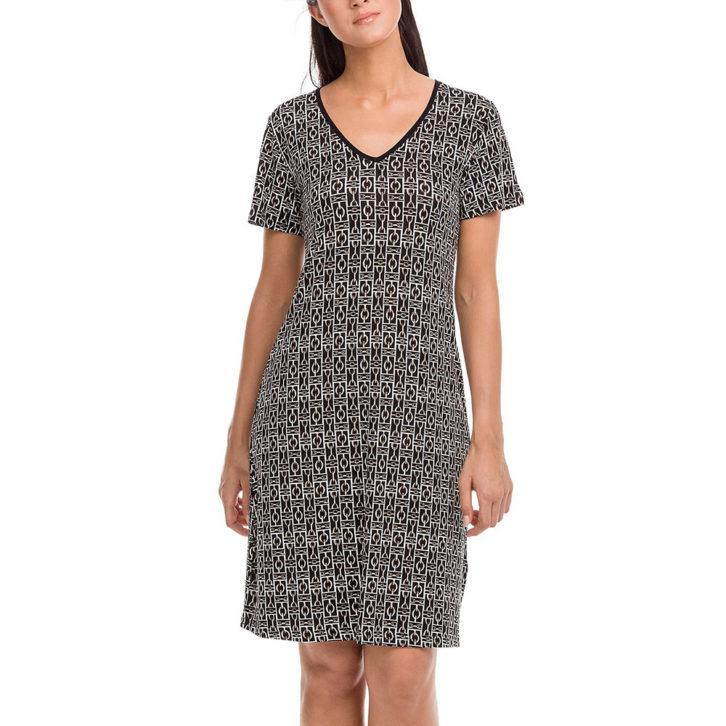 Γυναικείο Φόρεμα Θαλάσσης Vamp 12482 Μαύρο