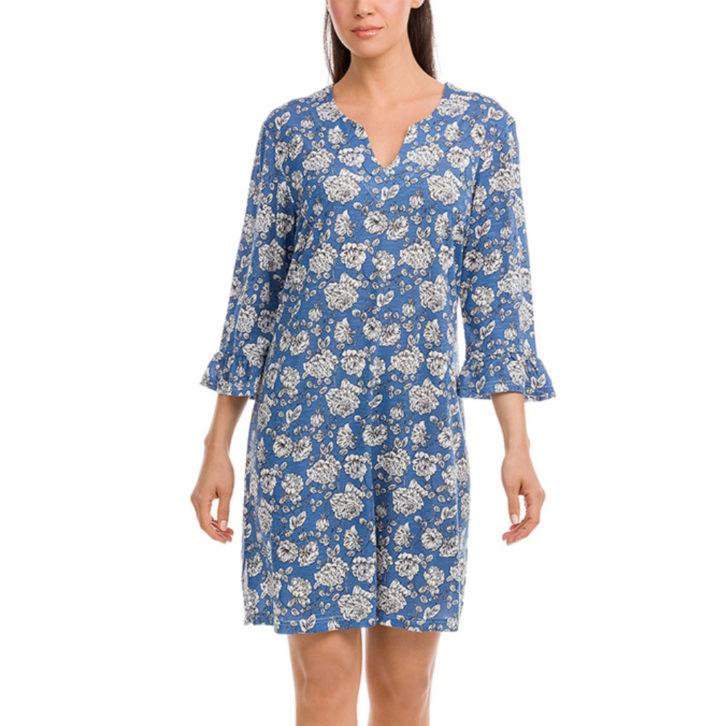 Γυναικείο Φόρεμα Vamp -12505 - Μπλε